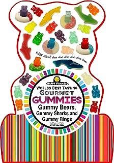 Happy Yummies Worlds Best Tasting Gourmet Gummies Shark Bag
