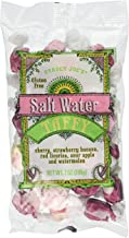 Trader Joe's Salt Water Taffy Cherry ,Strawberry Banana , Red Licorice,sour Apple and Watermelon These Are the Most Amazing Flavors,7 OZ(198 g)