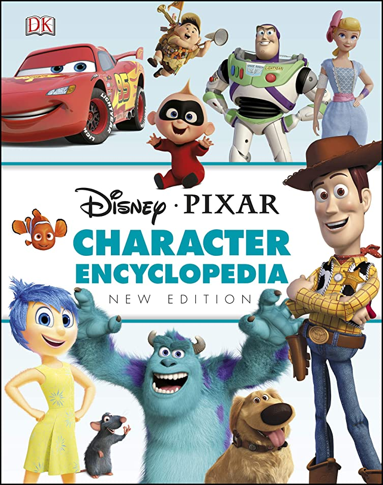 アパル療法出血Disney Pixar Character Encyclopedia New Edition (English Edition)