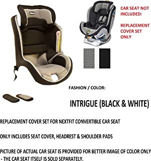 Replacement Seat Pad/Cushion / Cover, Headrest & Shoulder Pads for Chicco Nextfit Convertible