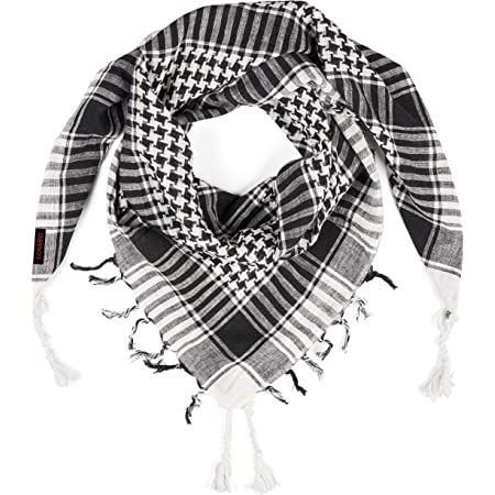 Lovarzi Desert Shemagh Scarf - Stylish & versatile fashion scarf for Men & Women of All Ages