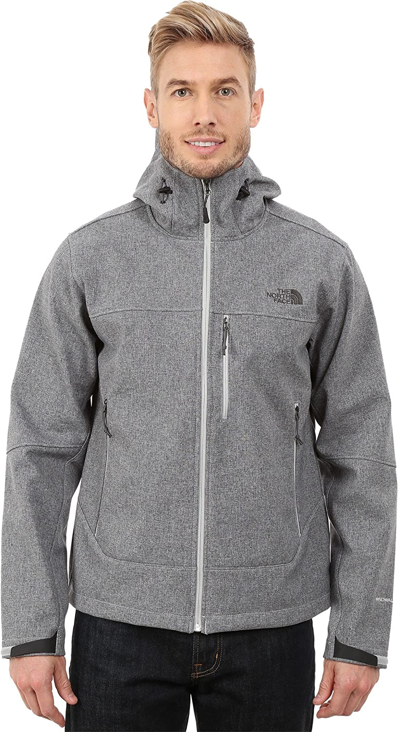 The North Face Men's Apex Bionic Hoodie, High Rise Grey Heather, LG