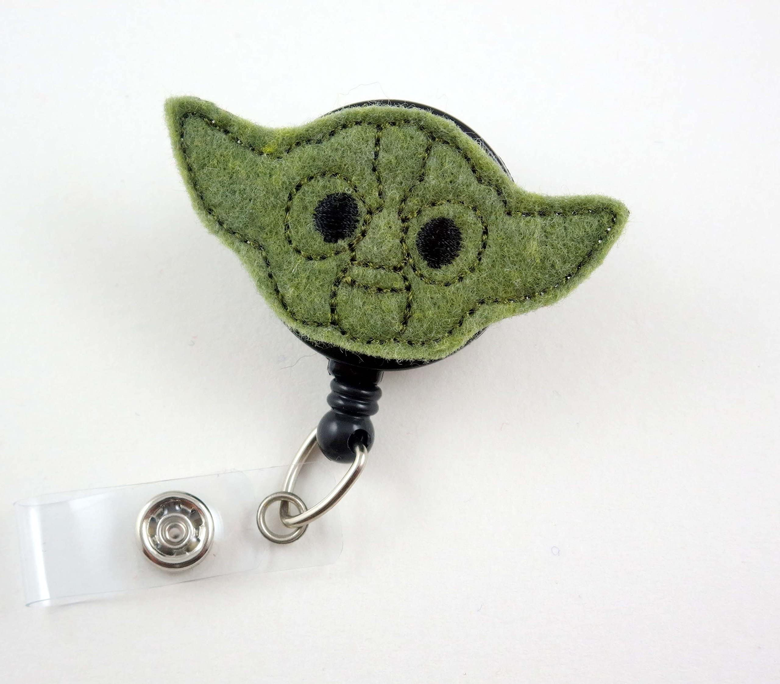Yoda Potter badge reel