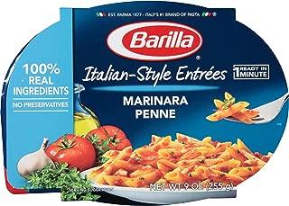 Barilla Italian-Style Entrees, Marinara Penne, 9 Ounce