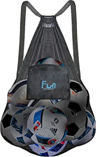 Mesh Beach Bag - Large Backpack for Pool Toy, Sports Soccer Ball, Basketball XXX-Large 28''x39'' Black