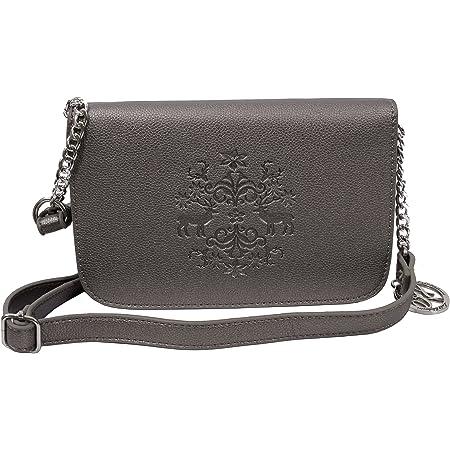 Trachtentasche Dirndltasche Damentasche Handtasche Umhängetasche Ledertasche Schwarz Braun Beige Grün Creme Rot Grau