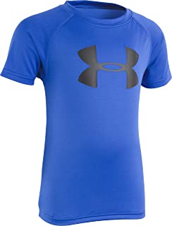 Under Armour Boys' Big Logo Short Sleeve Tee Shirt