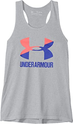 Under Armour Kids - UA Big Logo Slash Tank Top (Big Kids)
