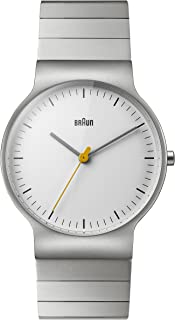 Braun Classic Watch with Stainless Steel Bracelet 38mm
