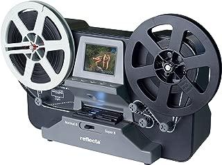 5,79 x 4,01 mm, 1920 x 1080 dpi, 24 bit, Film//Slide, Negro, Acero Inoxidable, CMOS Reflecta Super 8 Scanner Esc/áner