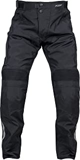 Pilot Motosport Men's Dura Motorcycle Over Pants (38-40) (Black, XX-Large)