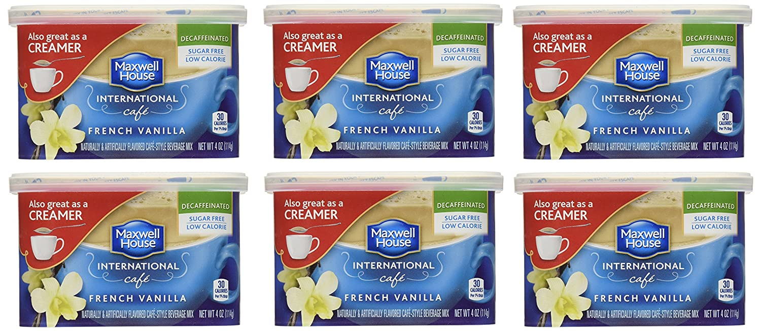 Maxwell House International Coffee Manufacturer direct delivery SALENEW very popular! Decaf Sugar Vanil Free French