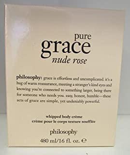 Philosophy Pure Grace Nude Rose Whipped Body Cream Creme 16 oz