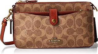 Coach Crossbody for Women-Monogram Brown