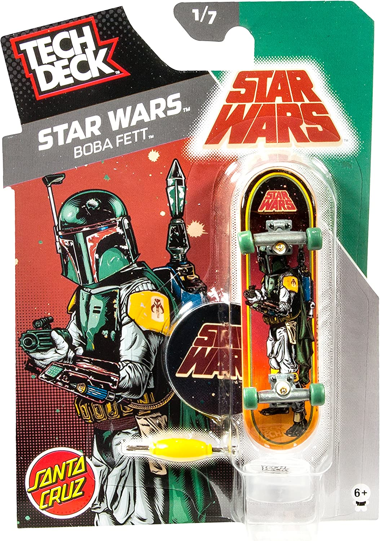 Star Wars Tech Deck (Tech Deck) 96mm Vol.6   Santa Cruz Boba Fett 20049645