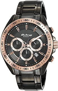 Octane Active Analog Black Dial Men's Watch - 90103KM03