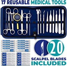Advanced Dissection Kit - 37 Pieces Total. High Grade Stainless Steel Instruments Perfect for Anatomy, Biology, Botany, Veterinary and Medical Students - by Poly Medical.