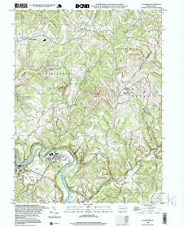 YellowMaps Avonmore PA topo map, 1:24000 Scale, 7.5 X 7.5 Minute, Historical, 1998, Updated 1999, 26.8 x 21.9 in