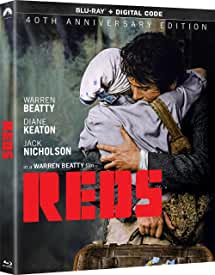 REDS starring Warren Beatty arrives on Two-Disc Blu-ray November 30 from Paramount