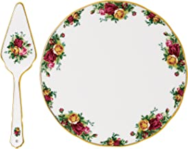Royal Albert Old Country Roses Cake Plate & Server