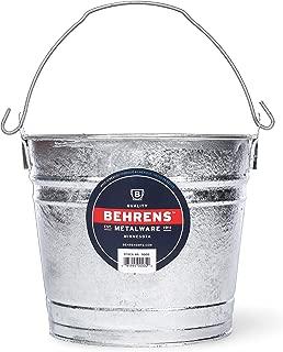 galvanised beer bucket