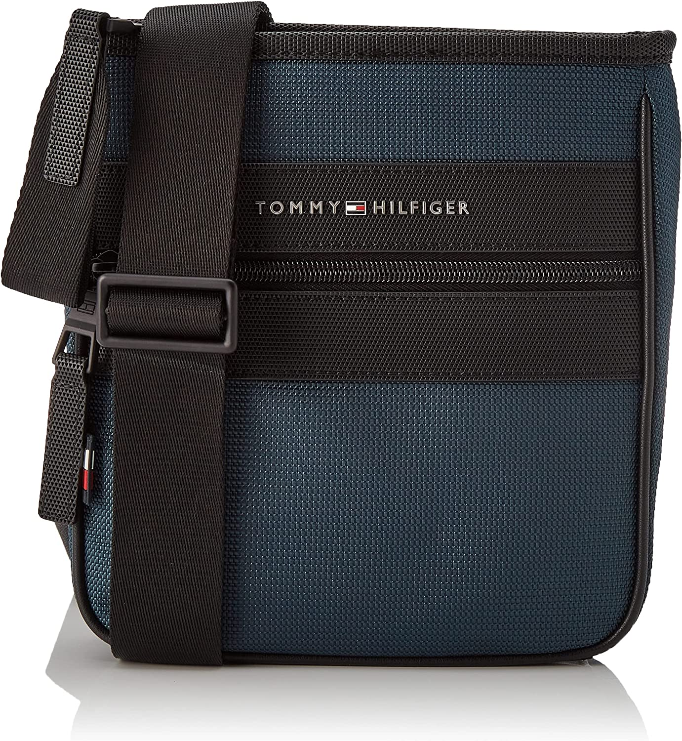 Tommy Hilfiger Elevated Nylon Mini Crossover, Crossovers para Hombre, M