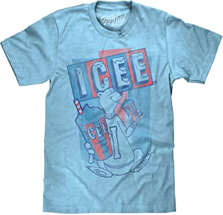 ICEE Polar Bear Logo T-Shirt - Soft Touch ICEE Faded Logo Shirt