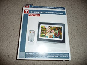 TruTech 7-Inch Digital Photo Frame - Black/White (A60P0315)