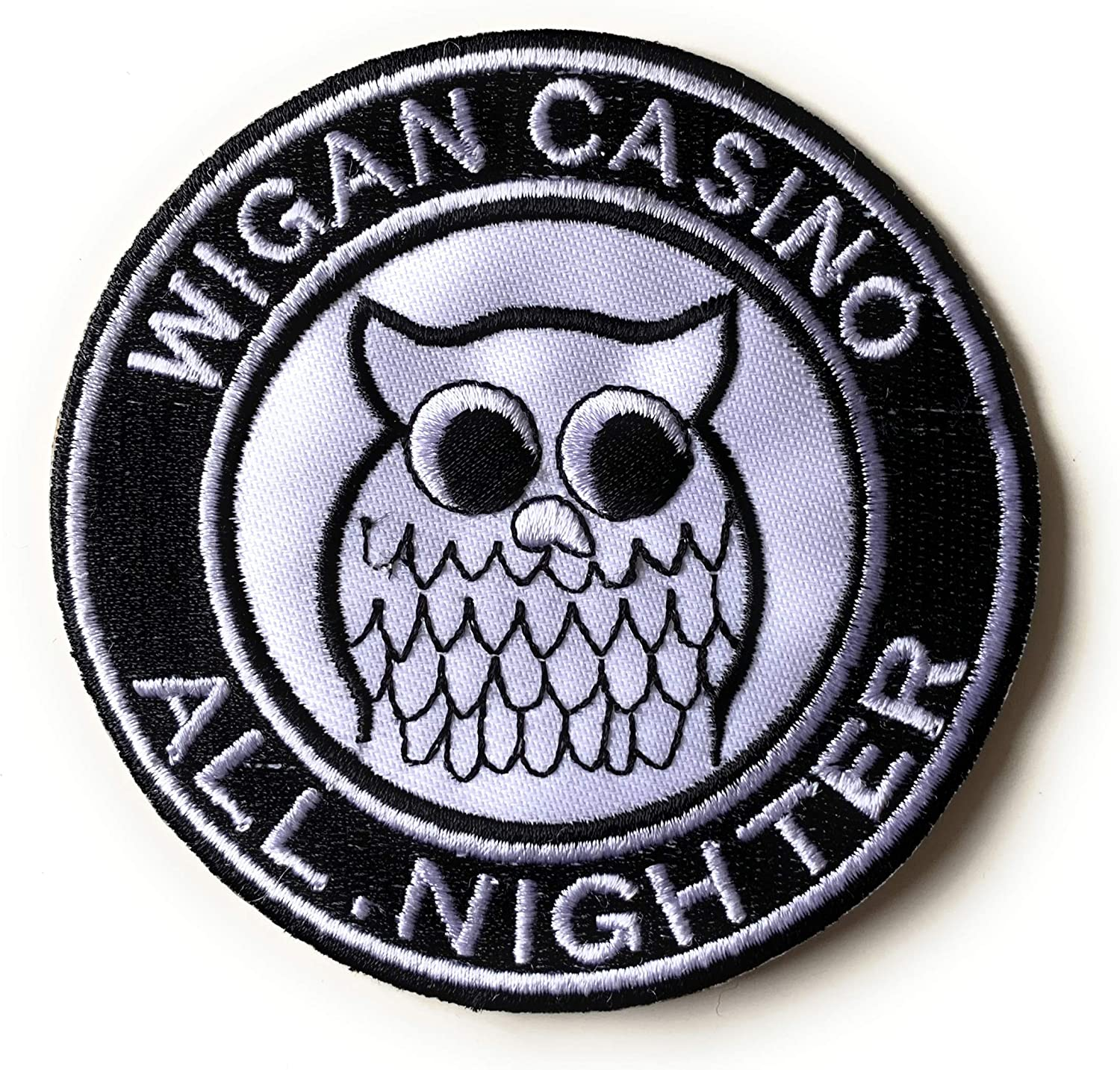 Wigan Casino All Nighter Scooter/Northern Soul – Parche para planchar para coser
