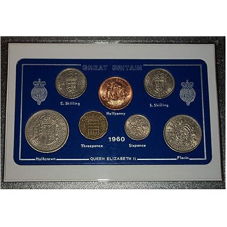 bag 1960 61st birthday HALF CROWN reminiscent party gift coin wedding souvenir