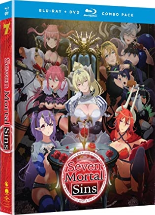 Seven Mortal Sins Blu-Ray/DVD(sin 七つの大罪 全12話)