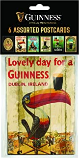 6 Pack of Assorted Guinness Postcards