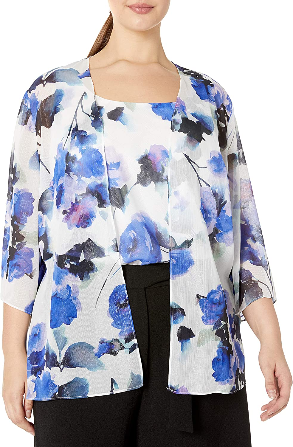 Alex Ranking TOP15 Evenings Women's Plus Size Burnout and Twinset Top Tank Max 90% OFF Jac