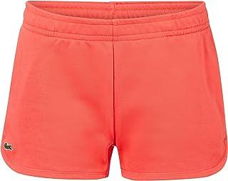Lacoste GF1553 Mujer Shorts de chándal,señora Pantalones Deportivos,Pantalones