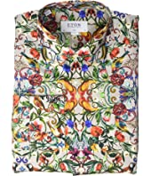 Eton - Slim Fit Floral Print Shirt