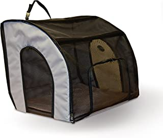 K&H Pet Products Travel Safety Carrier for Pets - Gray/Black
