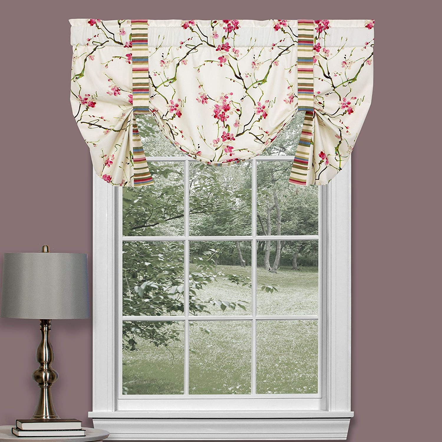 Thomasville Al Challenge the lowest price of Japan sold out. At Home Cherry Blossom Valance Treatments Up 52 Tie
