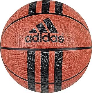 adidas 3 Stripes Rubber Basketball (Natural Orange/Black