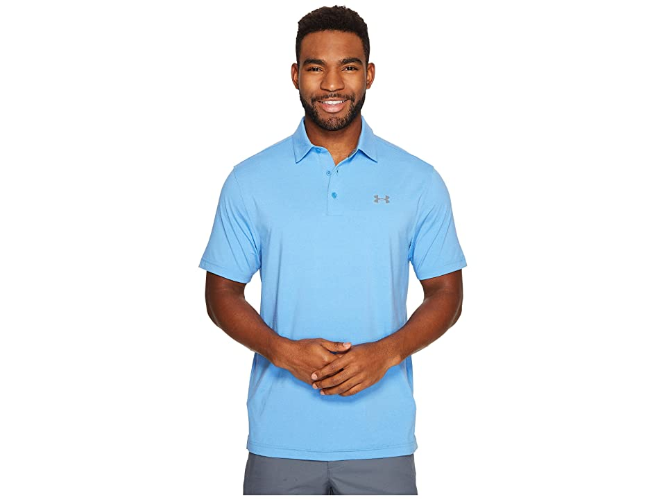 Under Armour Golf Playoff Polo Vented (Water/Graphite) Men