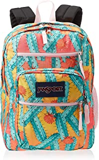 JanSport Unisex-Adult Big Student Backpack, Cactus Flowers - JS0A47JK