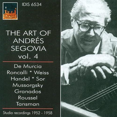 Amazon.com: The Art of Segovia, Vol. 4 (1952-1958): Andrés ...