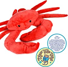 VIAHART Cora The Crab | 18 Inch Stuffed Animal Plush Crustacean | by Tiger Tale Toys