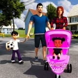 Virtual Mother Simulator: Babysitter Daycare & Happy Family Games