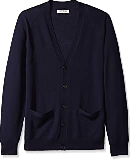 Amazon Brand - Goodthreads Men's Merino Wool Cardigan...
