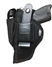 Pro-Tech Outdoors Holster Fits Guns with Laser for Bersa 380, Kel-Tec P11, P40, 9mm S&W Compact 380, Taurus Pt-22, Pt-25, Walther PPK-S, PPK, PP, Raven, ATM, Sig/Sauer P30,P32