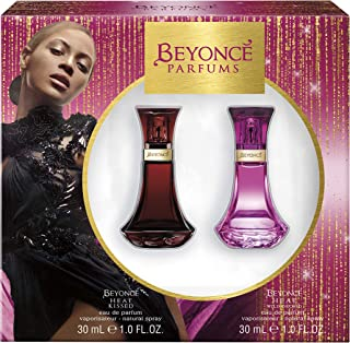 Beyonce Beyonce Heat Kissed And Heat Wild Orchid Eau De Parfum Gift Set, 1 Ounce, Pack Of 2, 1.047 Pounds