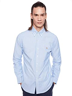 Polo Ralph Lauren Men's Strech Oxford Shirt Slim fit Classic Long Sleeve