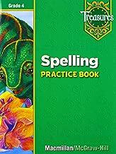 Spelling Practice Book: Grade 4 (Treasures)