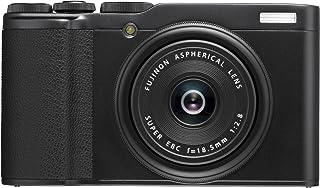 Fujifilm XF10 Black Fotocamera Digitale Compatta, 24 MP, Obiettivo Fujinon 18.5 mm F2.8, Sensore CMOS APS-C, Teleconverter...