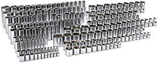 SATA 212-Piece Ultimate Socket Set 1/4-Inch, 3/8-Inch, 1/2-Inch Drive - ST09511U